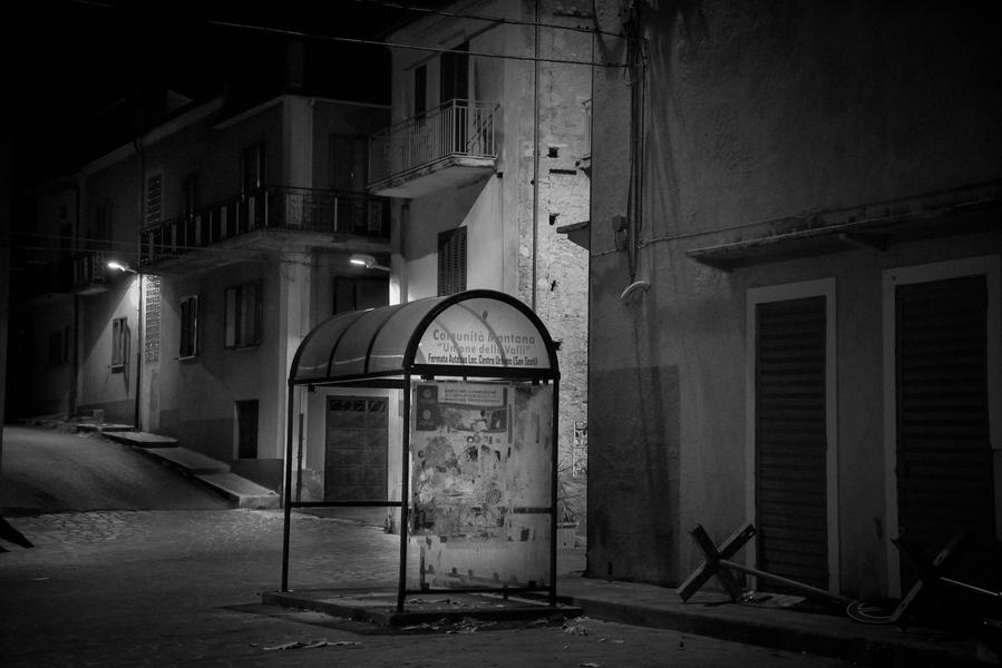 San Sosti, Calabria Bus stop