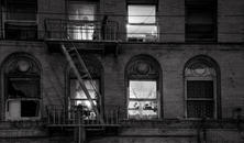Tenement Windows At Night, Chinatown