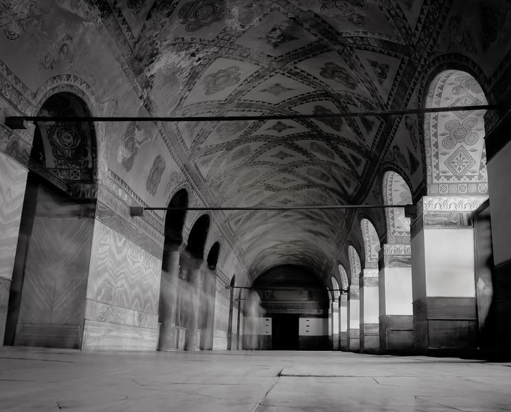 Interior, Aya Sofia, Istanbul