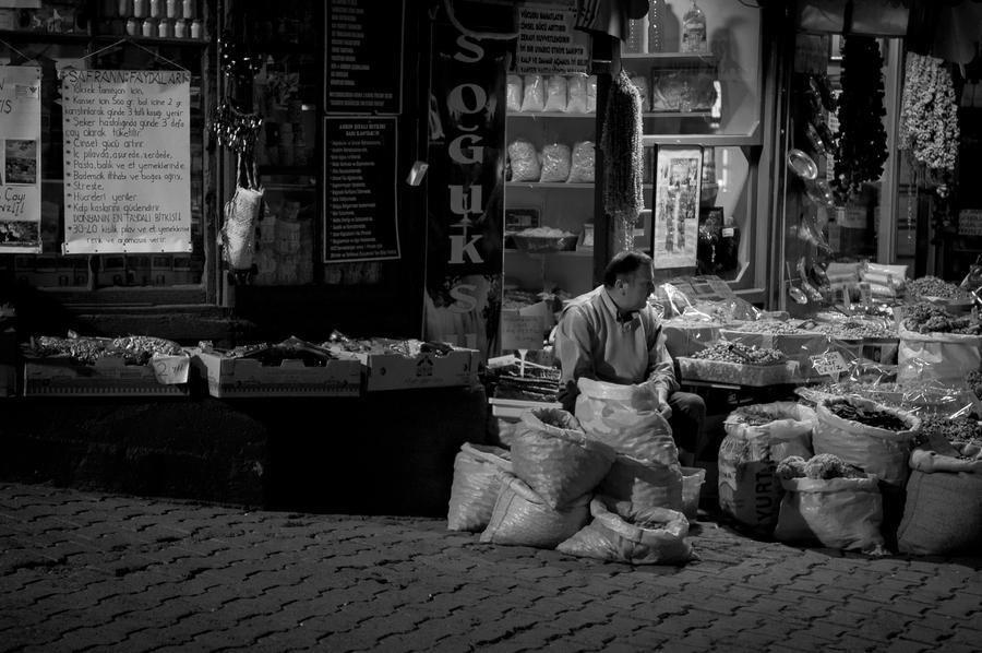 Evening, Merchant, Istanbul