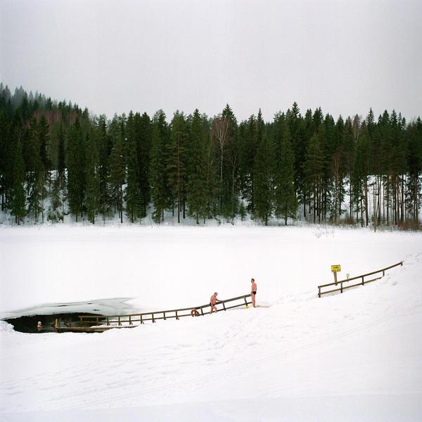 Vuorilampi from the series Järvenjää/Lakeice