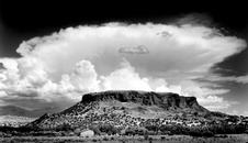 2004116 Storm Cloud Over Black Mesa, NM