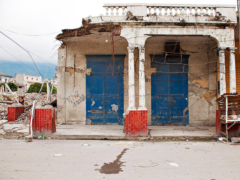 Vive Aristide, Port-au-Prince, Haiti,  2010