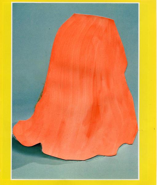 Artefact, orange, inktjetprint, 2009