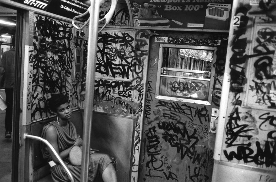 Subway, N.Y.C. May 17th 1984