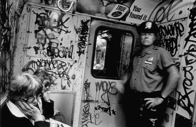 True, N.Y.C. Subway, 1982