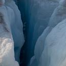 Crevasse 2  30 x 30 inches  2014