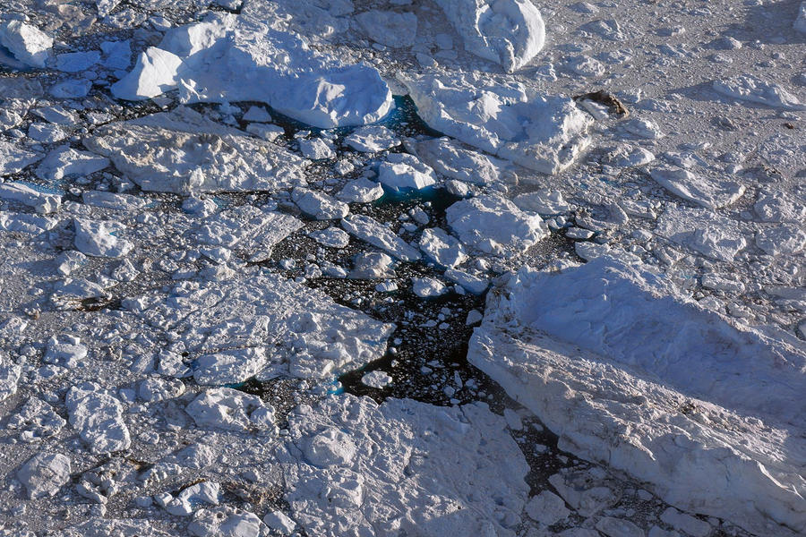 Over Ilulissat 2 40 x 60 inches 2014