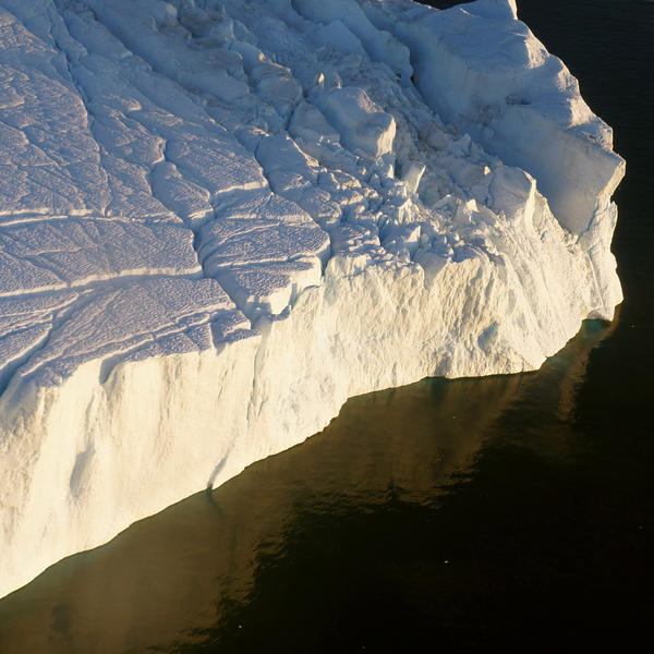 Iceberg, August 6 A 30 x 30 inches 2014