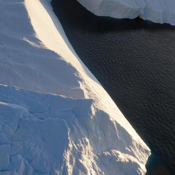 Iceberg, August 6 B 30 x 30 inches 2014