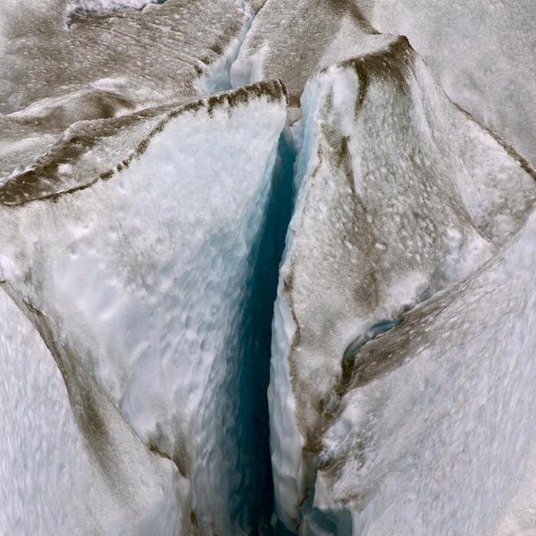Viedma Crevasse 2   30 x 30 inches  2015