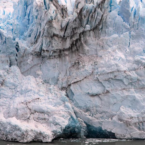 Perito Moreno Front 1  30 x 30 inches  2015