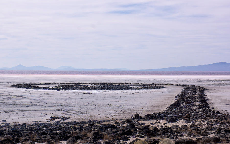 Spiral Jetty 1 40 x 60 inches 2014