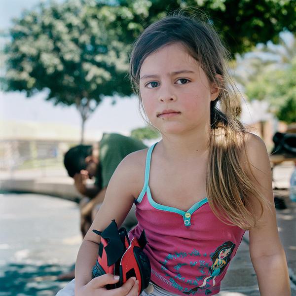 Ella with Protective Gear