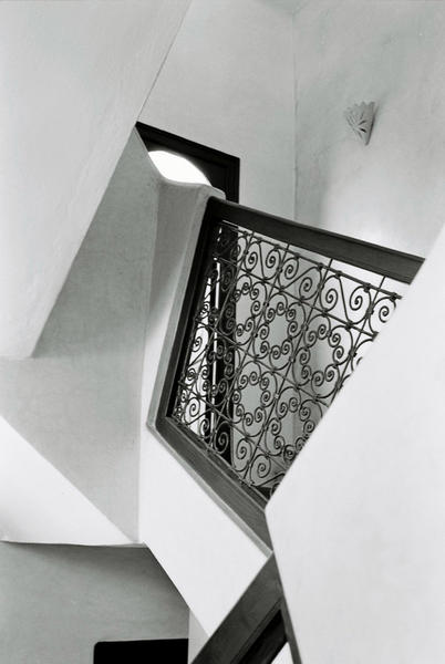Staircase, Marrakesch, 2006