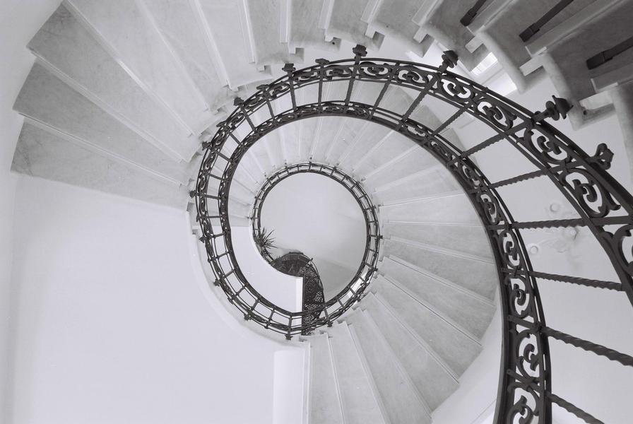 Stairway, Madonna di Pugliano, 2003