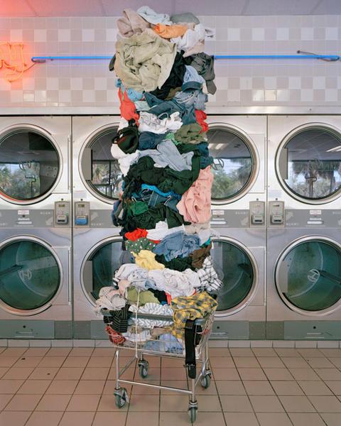 Laundry Totem