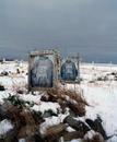 Two graves, Alaska 2010
