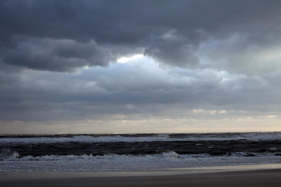 Blustery Beach