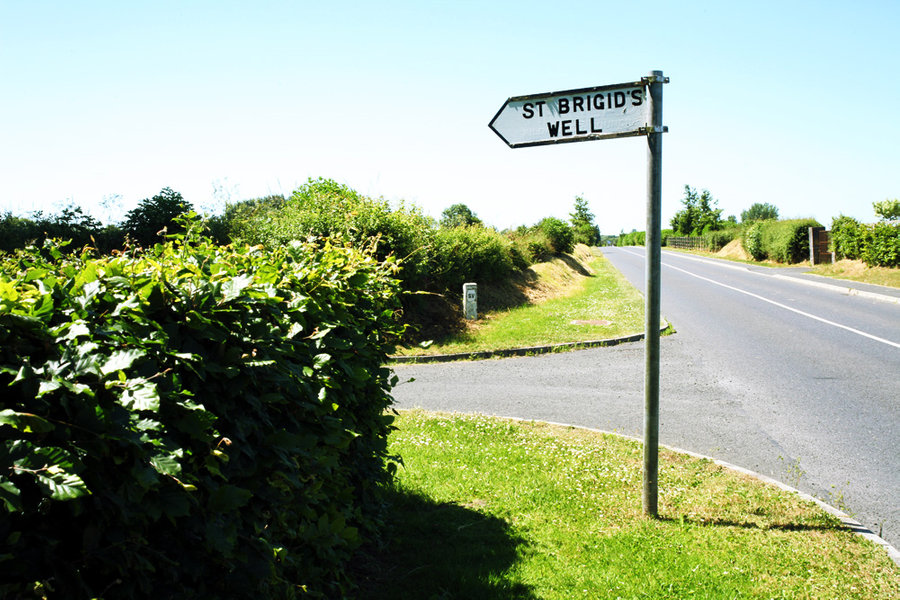 The Way to St. Brigid's Well, Cill Dara, Ireland