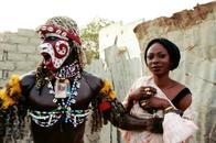 Lemou Diop & Marie Faye, artists. Dakar, Senegal.