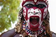 Lemou Diop performing the Simba. Dakar, Senegal.