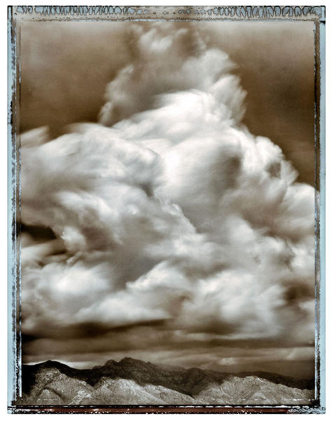Stormcloud Forming over the Catalinas, Tucson, AZ