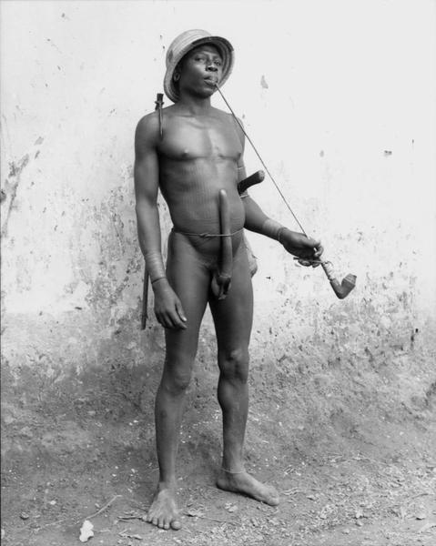 Natitingou Man, Benin, 1953