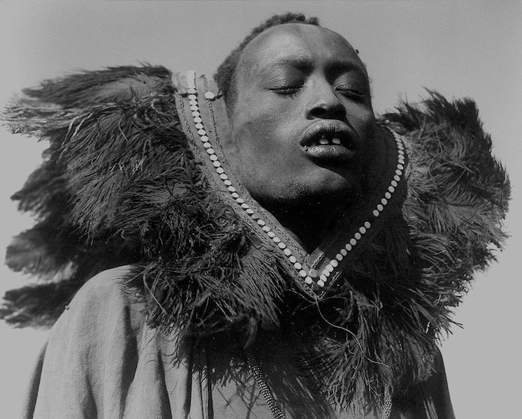 Maasai Man, Tanzania, 1953