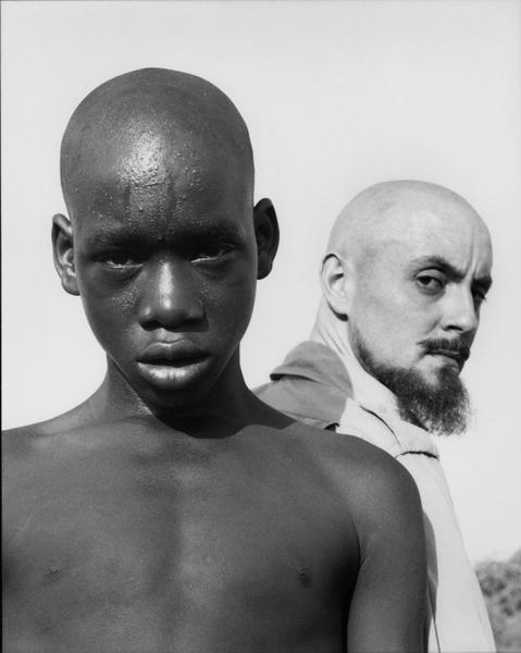 West African Boy & Hector Acebes, 1953