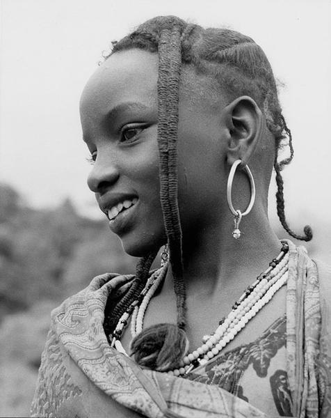 Unidentified Girl, Nigeria, 1953