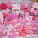 Mirai and Her Pink Things, Light jet Print, 2005