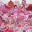 Yujin and Her Pink Things, Light jet Print, 2007