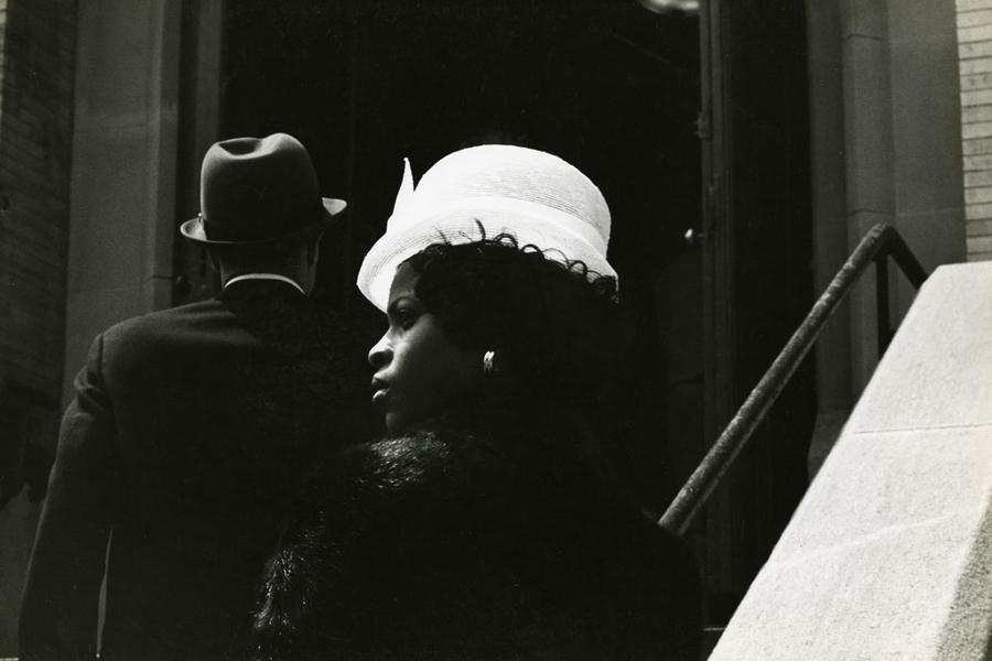 Wedding in Harlem-hat, 1962-63