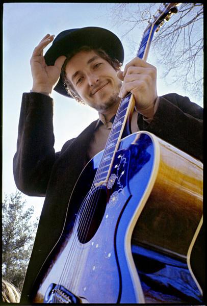 Bob Dylan at Byrdcliffe, Nashville Skyline album.