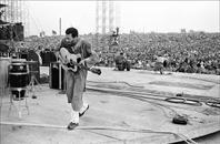 Richie Havens, Woodstock Festival, 1969.