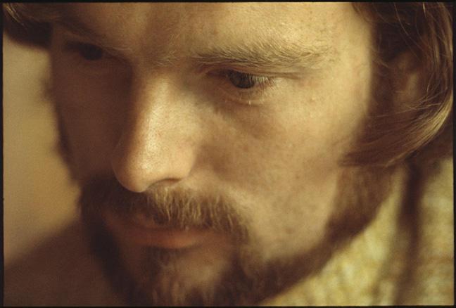 Van Morrison, 'Moondance' album cover shot, 1969.