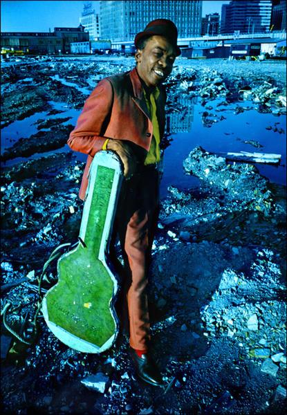 John Lee Hooker, NYC, 1969.