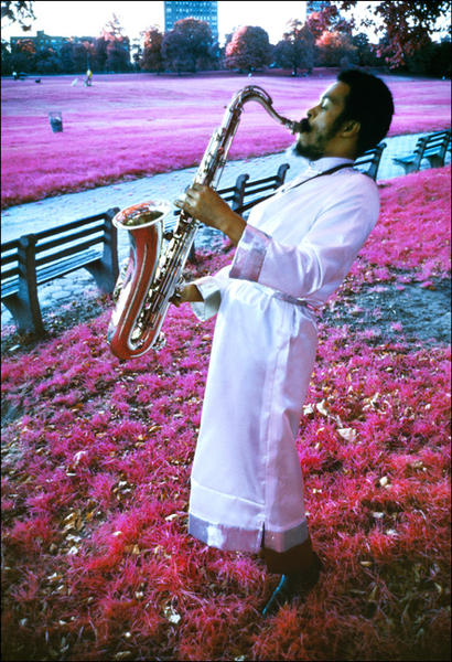 Albert Ayler, Prospect Park, Brooklyn, NY 1969.
