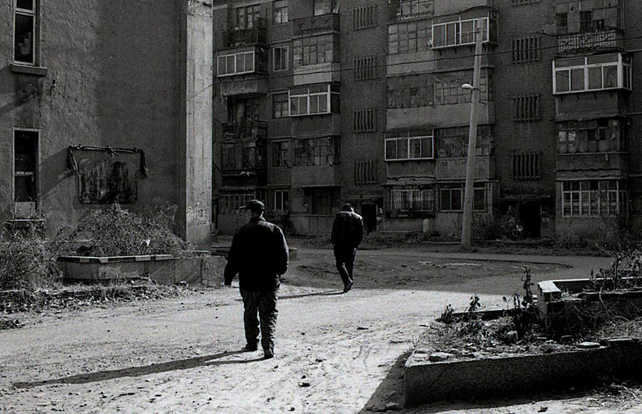 Shenyang 2009 - Walking in old neighborhood
