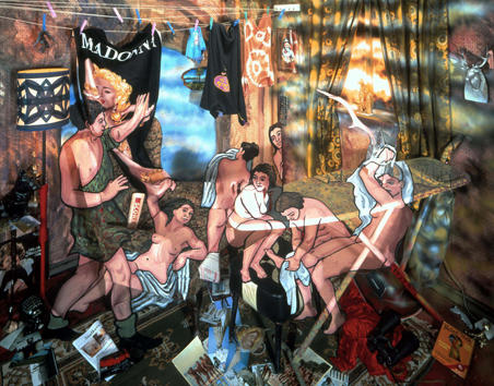 Diana and Actaeon (after Titian) 1998