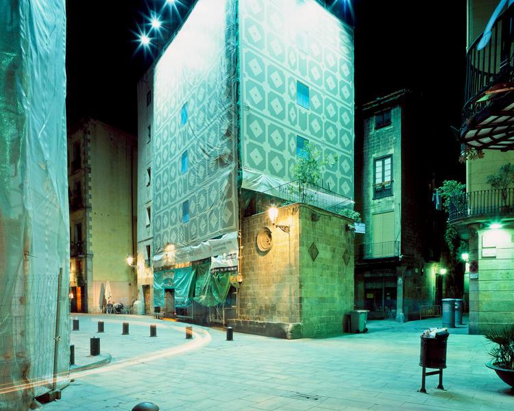 Plaça de Santa Maria, Barcelona, 2009