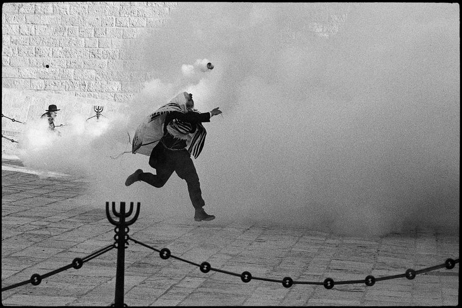 Demonstration, Western Wall, Jerusalem, 1989