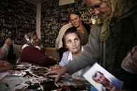 Mothers of Srebrenice Collate Photos, Bosnia, 2006