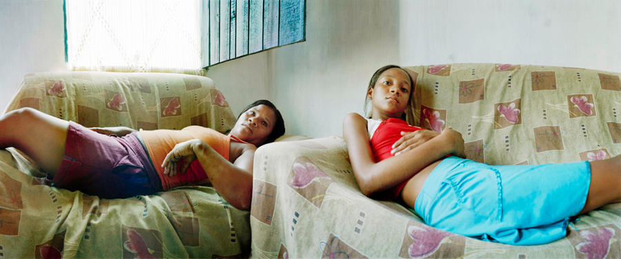 Mariana and Jandaraina, Itaparica, Brazil 2008
