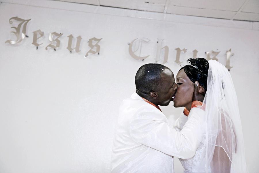 Wedding at the UCKG, Mangaung, Free State RSA