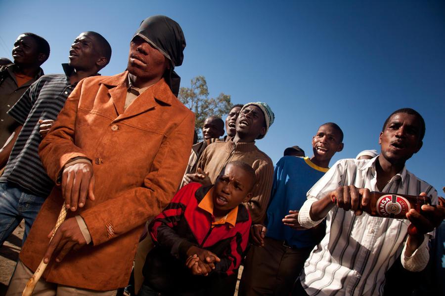 Initiation school graduate, Eastern Cape RSA