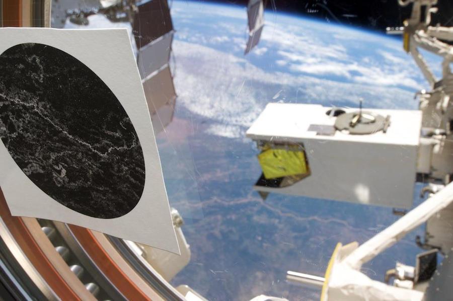 'Orbis Atlantis' in space. Credit: NASA L Melvin