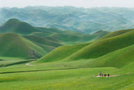 Rolling hills in Herat Province, Afghanistan
