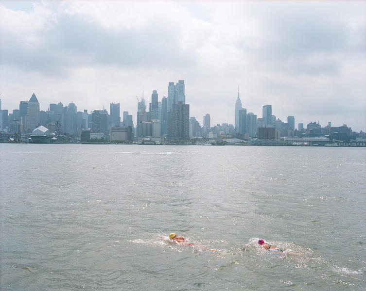 Swimmers, The Hudson River, 2014
